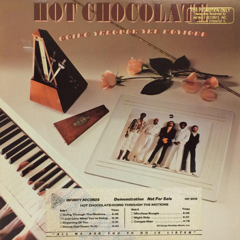 Hot Chocolate Vinyl (Used)