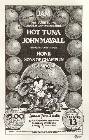 Hot Tuna Handbill