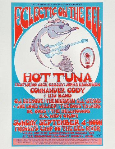 The Commander Cody Band Handbill