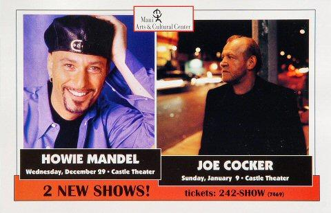 Howie Mandel Handbill