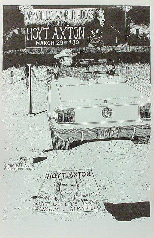 Hoyt Axton Poster