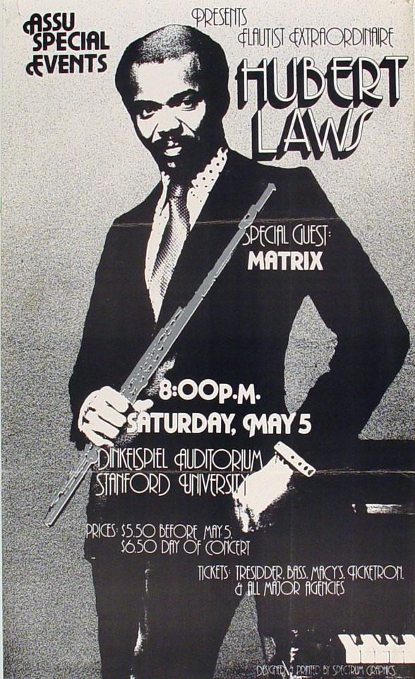 Hubert Laws Poster