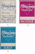 Huey Lewis & the News Backstage Pass