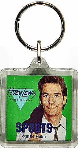Huey Lewis &amp; the NewsPlastic Keychain