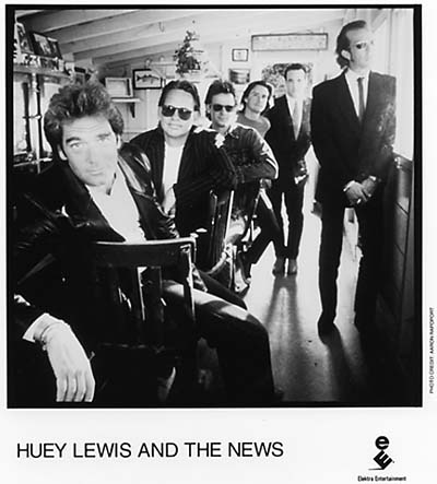 Huey Lewis & the News Promo Print