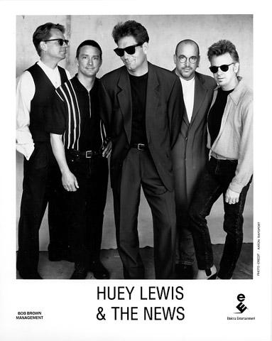 Huey Lewis & the NewsPromo Print