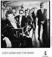 Huey Lewis &amp; the News Promo Print