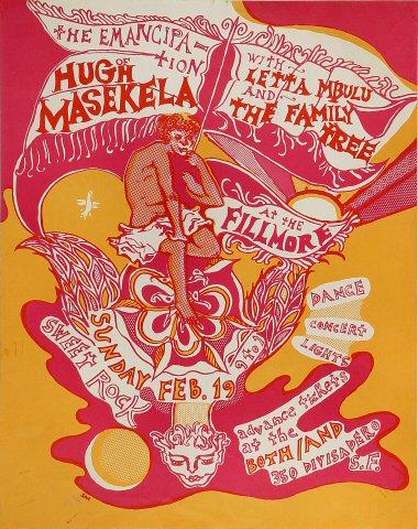Hugh Masekela Poster
