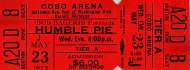 Humble Pie Vintage Ticket