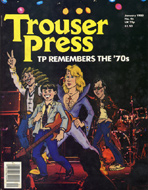 Ian Dury Trouser Press Magazine