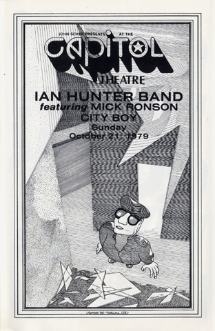 Ian Hunter Band Program