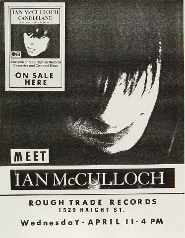 Ian McCullough Handbill