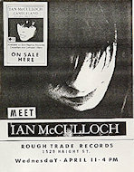 Ian McCullough Handbill