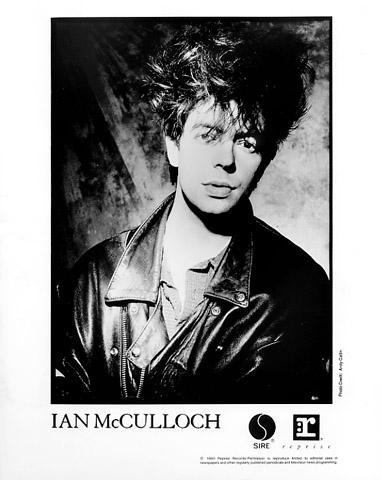 Ian McCullough Promo Print