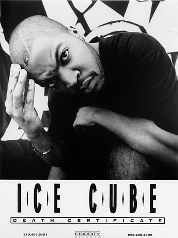 Ice Cube Promo Print