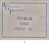 Icehouse Backstage Pass