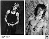 Iggy Pop Promo Print