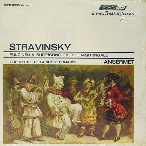 """Igor Stravinsky Vinyl 12"""" (New)"""