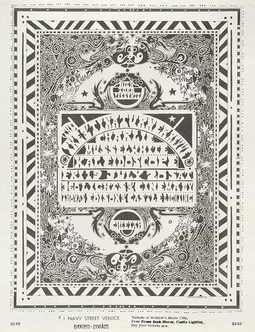 Ike & Tina Turner Handbill