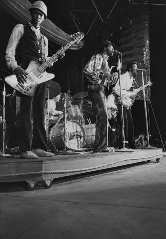 Chambers Brothers Fine Art Print from Atlantic City Race Track on 01 Aug 69: 16x20 Silver Gelatin