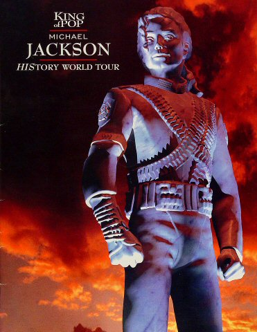 "Michael Jackson Program from Aloha Stadium on 03 Jan 97: 12"" x 15 1/2"""