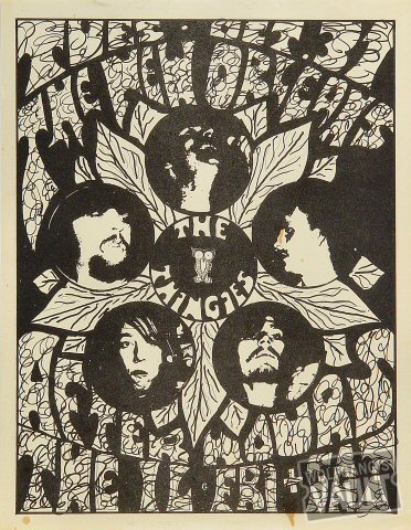 "Thingies Handbill from Austin on 31 Oct 67: 8 1/2"" x 11"""