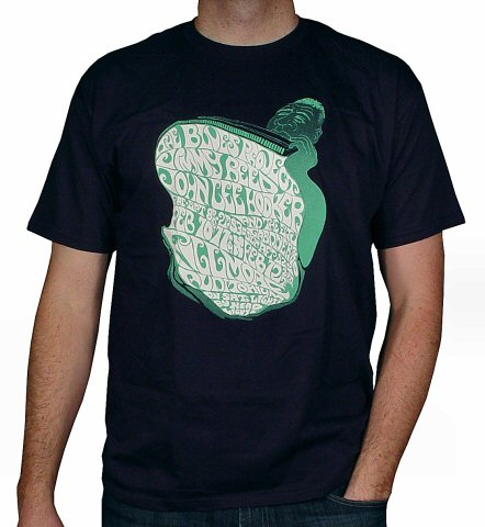 The Blues Project Men's Retro T-Shirt from Fillmore Auditorium on 10 Feb 67: Medium
