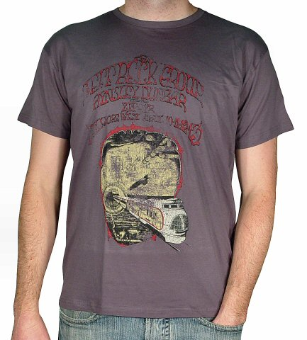 Jeff Beck Group Men's Retro T-Shirt from Fillmore West on 10 Apr 69: Large