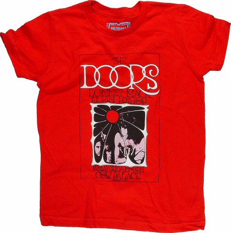 The Doors Kid's Retro T-Shirt from Cow Palace on 25 Jul 69: Kid 10