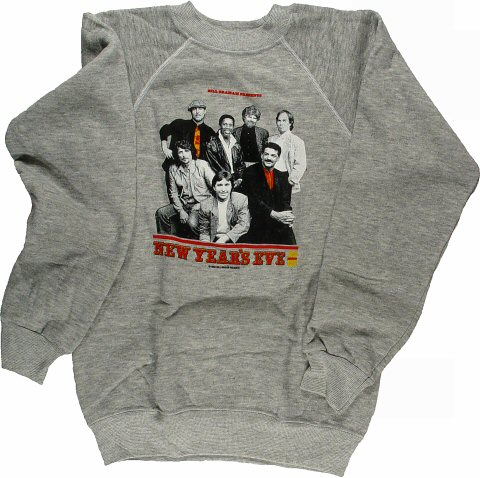 Little Feat Men's Vintage Sweatshirts from Henry J. Kaiser Auditorium on 31 Dec 88: Small
