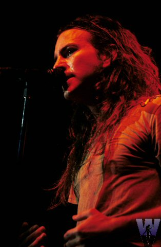 Eddie Vedder BG Archives Print from Cow Palace on 31 Dec 91: 11x14 C-Print