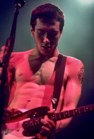 John Frusciante BG Archives Print from Cow Palace on 31 Dec 91: 16x20 C-Print