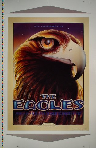 "The Eagles Proof from Shoreline Amphitheatre on 06 Jun 94: 25"" x 38"""