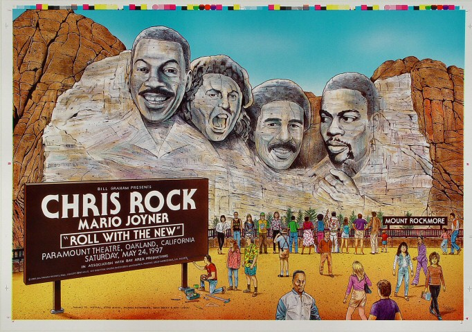 "Chris Rock Proof from Paramount Theatre on 24 May 97: 14"" x 20"""