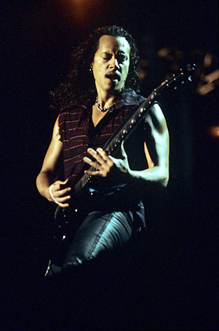 Kirk Hammett BG Archives Print from 3 Com Park on 14 Jul 00: 11x14 C-Print