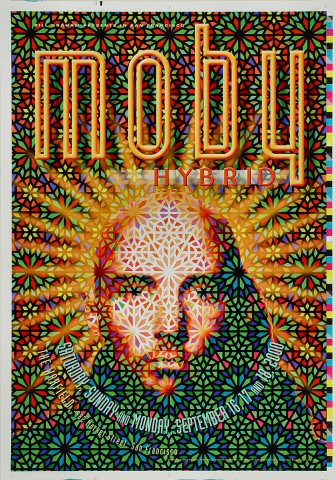 "Moby Proof from Warfield Theatre on 16 Sep 00: 14"" x 20"""