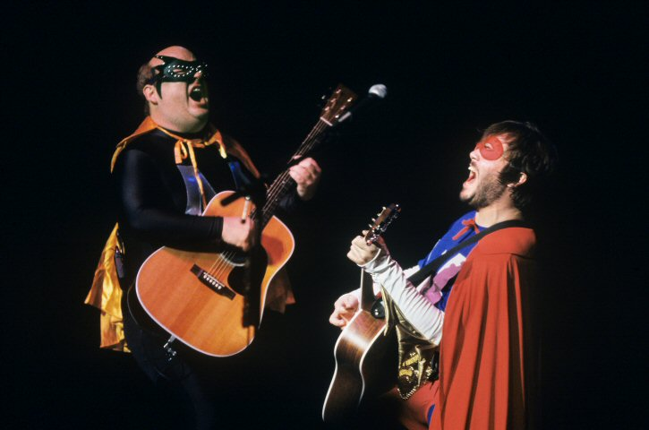 Tenacious D BG Archives Print from Warfield Theatre on 31 Oct 01: 16x20 C-Print
