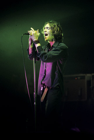 Brandon Boyd BG Archives Print from Warfield Theatre on 19 Nov 01: 16x20 C-Print