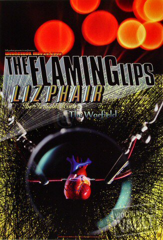 "The Flaming Lips Poster from Warfield Theatre on 28 May 03: 13"" x 19"""