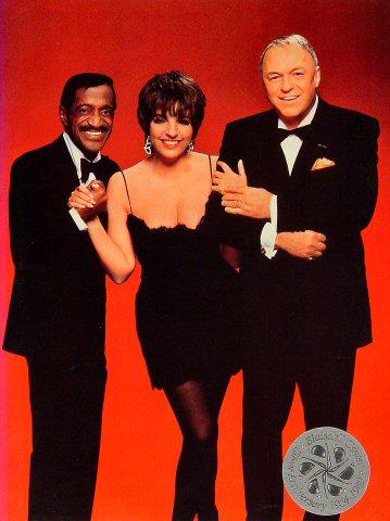 "Sammy Davis Jr. Program from Blaisdell Arena on 07 Mar 89: 9"" x 12"""