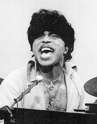 Little Richard Fine Art Print from KPIX : 16x20 SG Matted & Signed