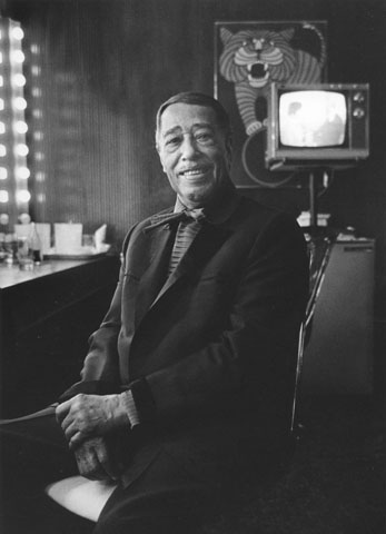 Duke Ellington Fine Art Print from Ambassador Hotel : 11x14 SG Matted & Signed