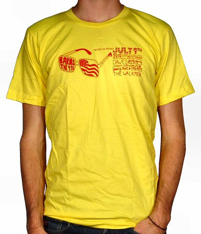Dawes Men's Retro T-Shirt from Codfish Hollow Barn on 04 Jul 10: Medium