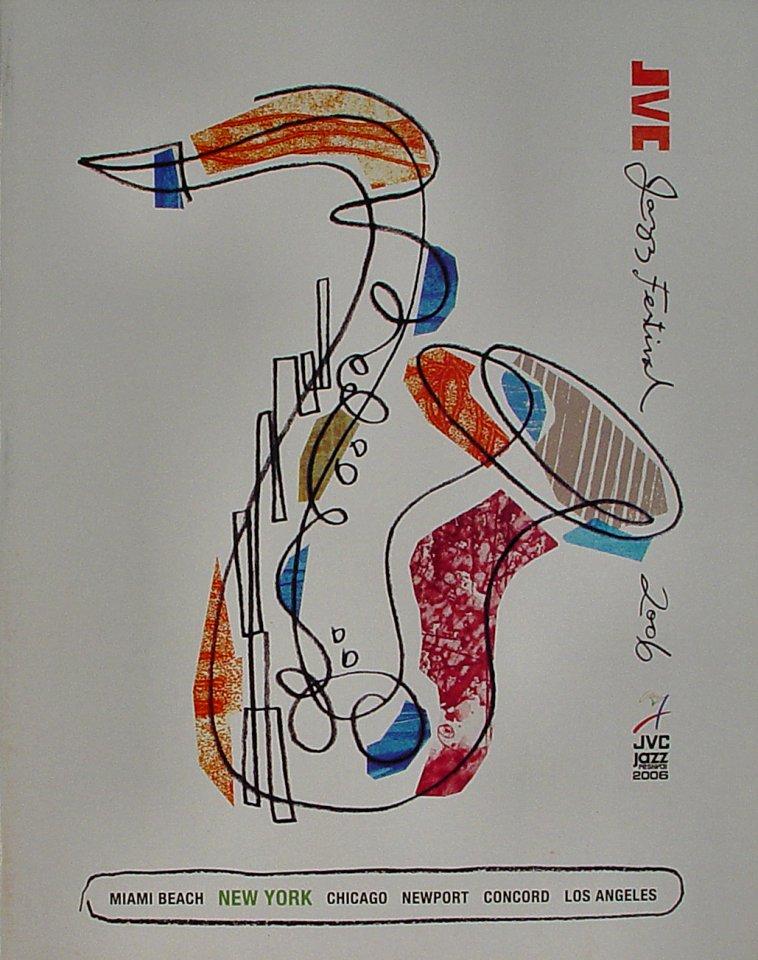 "Hank Jones Program from Carnegie Hall on 13 Jun 06: 8 1/2"" x 11"""