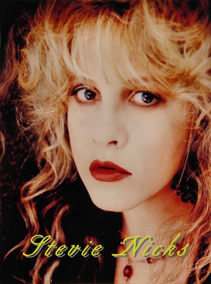 "Stevie Nicks Program from Concord Pavilion on 28 Aug 94: 9"" x 12"""