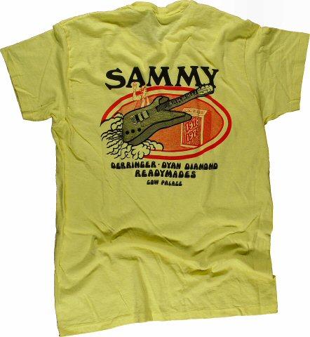 Sammy Hagar Women's Retro T-Shirt from Cow Palace on 31 Dec 78: Medium/OS