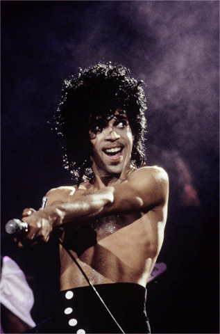 Prince BG Archives Print from Cow Palace on 01 Mar 85: 16x20 C-Print