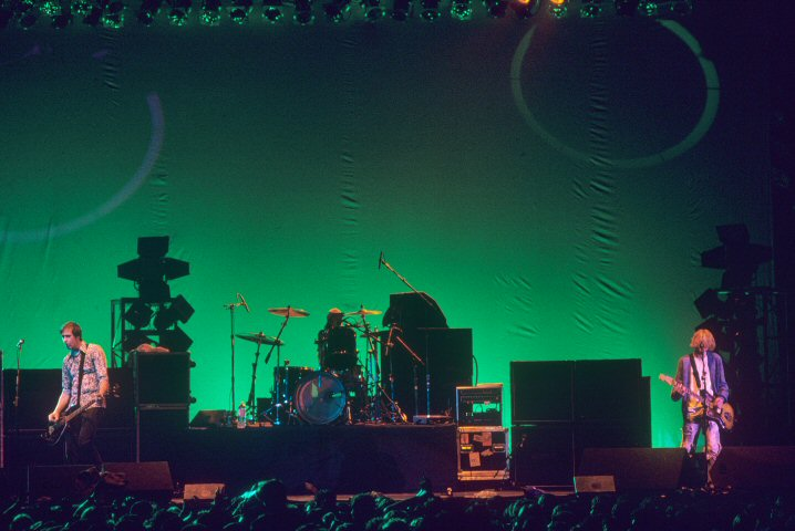 Nirvana BG Archives Print from Cow Palace on 09 Apr 93: 16x20 C-Print
