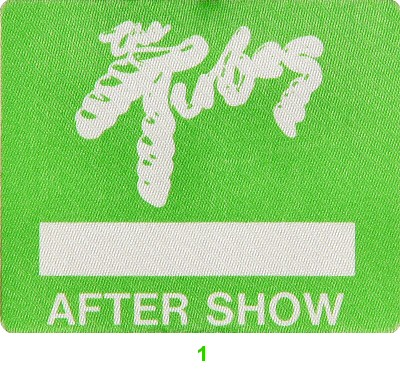 The Tubes Backstage Pass from San Jose Center for the Performing Arts on 11 Feb 77: Pass 1