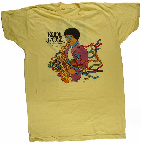 Jules Broussard Men's Vintage T-Shirt from Claremont Resort Hotel on 02 Nov 82: Small